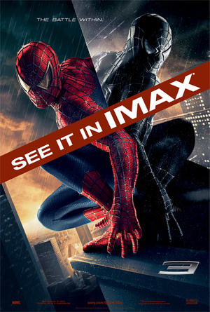 "Poster art for ""Spider-Man3."""