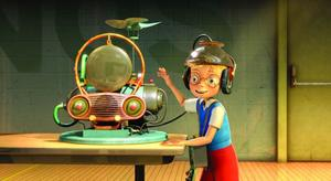 "Lewis in ""Meet the Robinsons."""