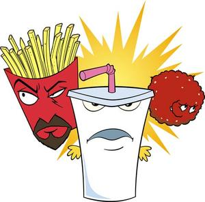 """Aqua Teen Hunger Force Colon Movie Film for Theaters"""