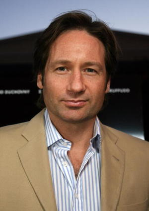 """The TV Set"" star David Duchovny at the L.A. premiere."