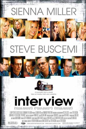 "Poster art for ""Interview."""