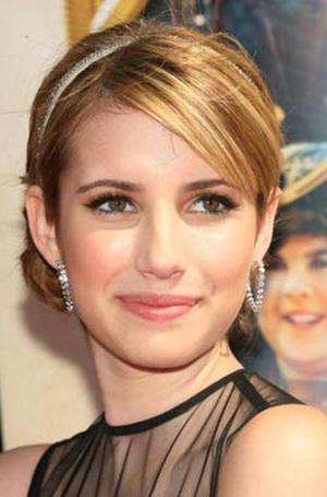 """""""Nancy Drew"""" star Emma Roberts at the Hollywood premiere."""