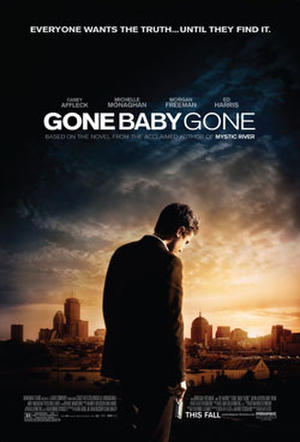 "Poster art for ""Gone Baby Gone."""