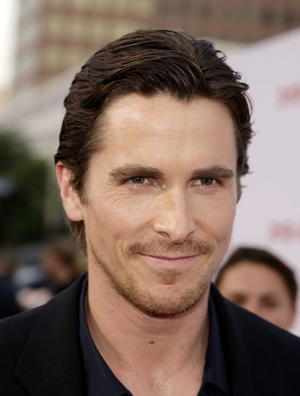 """3:10 to Yuma"" star Christian Bale at the L.A. premiere."
