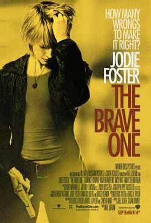 """""""The Brave One"""" poster art."""