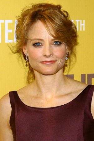 """""""The Brave One"""" star Jodie Foster at the N.Y. premiere."""