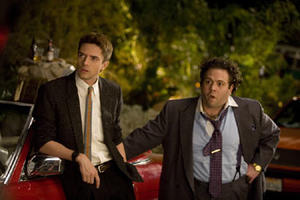 "Topher Grace and Dan Fogler in ""Take Me Home Tonight."""