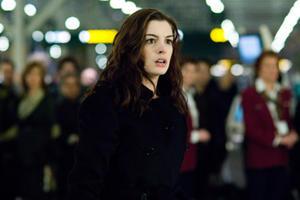 "Anne Hathaway in ""Passengers."""