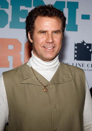 "Actor Will Ferrell at the L.A. premiere of ""Semi-Pro."""