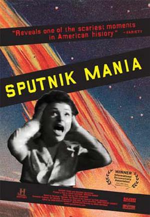 "Poster art for ""Sputnik Mania."""
