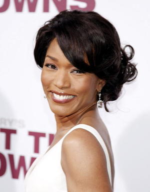 "Actress Angela Bassett at the L.A. premiere of ""Meet the Browns."""