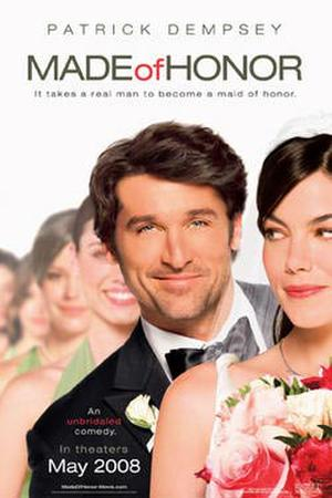 """Poster art for """"Made of Honor."""""""