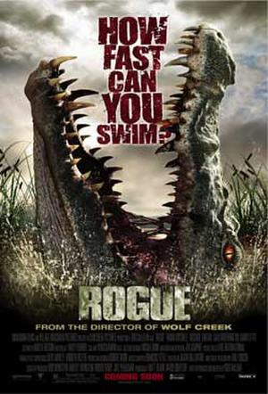 """Poster art for """"Rogue."""""""