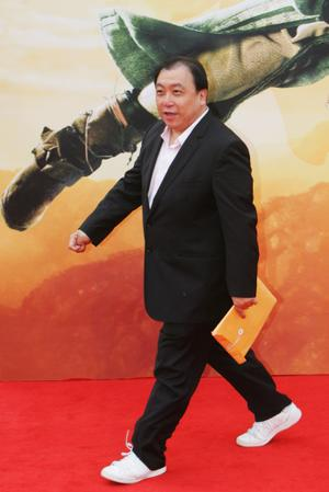 "Jing Wong at the world premiere of ""The Forbidden Kingdom."""