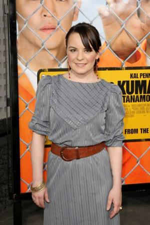 """Jenna von Oy at the California premiere of """"Harold and Kumar Escape from Guantanamo Bay."""""""