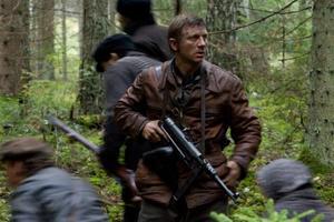 """Daniel Craig as Tuvia Bielski in """"Defiance."""""""