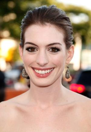 """Anne Hathaway at the World premiere of """"Get Smart."""""""