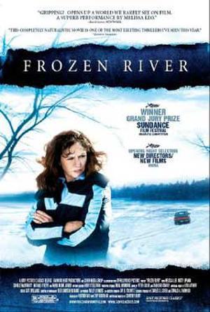 """Poster art for """"Frozen River."""""""