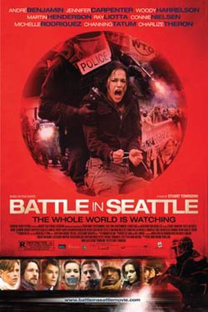 "Poster art for ""Battle in Seattle."""