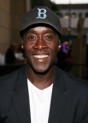 "Don Cheadle at the California premiere of ""Traitor."""
