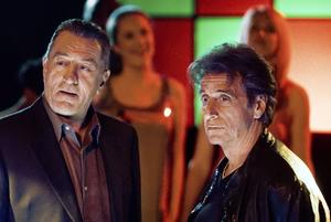 "Robert De Niro and Al Pacino in ""Righteous Kill."""