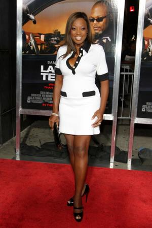 "Star Jones at the New York premiere of ""Lakeview Terrace."""