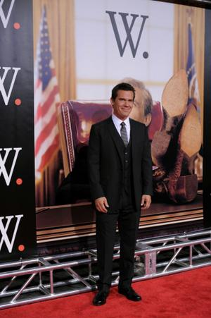 "Josh Brolin at the New York premiere of ""W."""