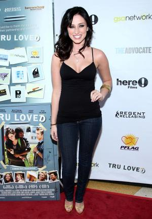 "Najarra Townsend at the red carpet of the California premiere of ""Tru Loved."""