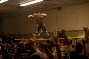"""Mickey Rourke in """"The Wrestler."""""""