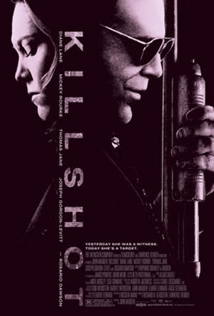 "Poster art for ""Killshot."""