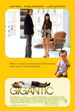 "Poster art for ""Gigantic."""