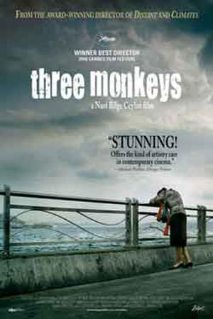 "Poster art for ""Three Monkeys."""
