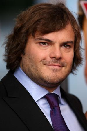 """Jack Black at the New York premiere of """"Year One."""""""