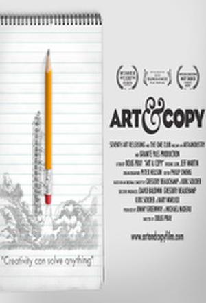 """Poster art for """"Art & Copy."""""""