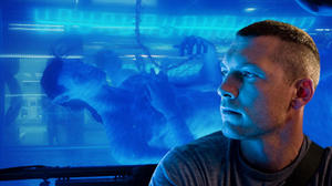 "Sam Worthington in ""Avatar."""