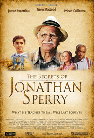 "Poster art for ""The Secrets of Jonathan Sperry."""