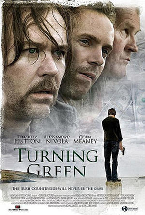 """Poster art for """"Turning Green."""""""
