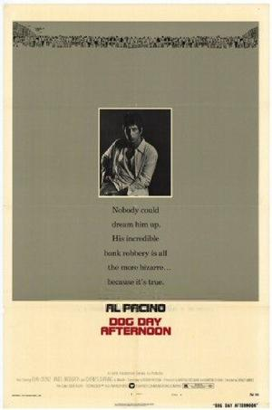 """Poster art for """"Dog Day Afternoon."""""""