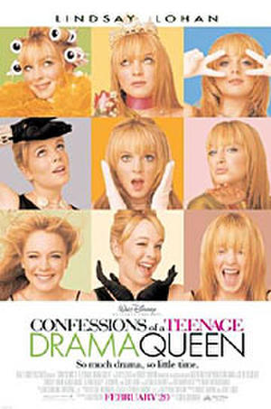 """Poster art for """"Confessions of a Teenage Drama Queen."""""""