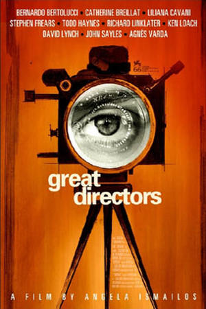 Poster art for 'Great Directors.'