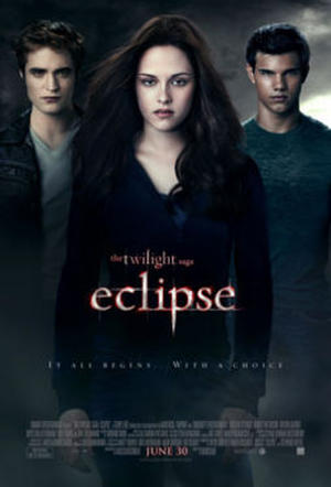 """Poster for """"The Twilight Saga: Eclipse."""""""