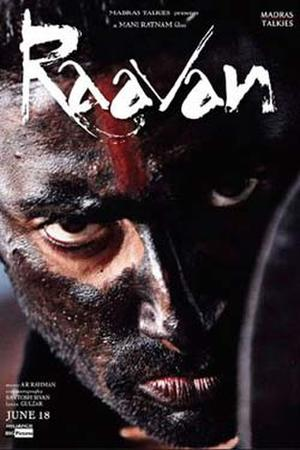 "Poster art for ""Raavan."""