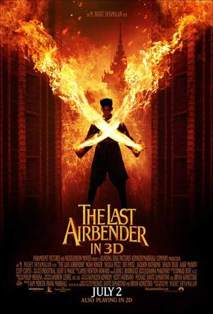 """Poster art for """"The Last Airbender 3D."""""""