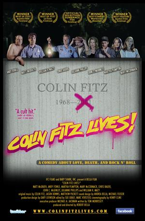 "Poster art for ""Colin Fitz Lives!"""