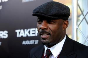 "Idris Elba at the California premiere of ""Takers."""