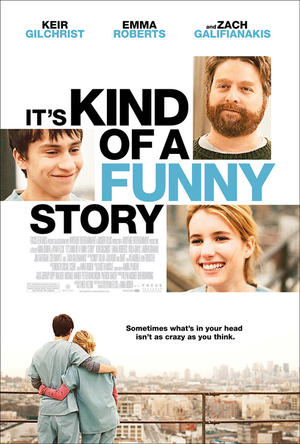 """Poster art for """"It's Kind of a Funny Story."""""""