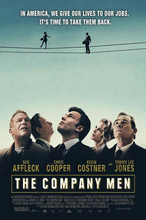 """Poster art for """"The Company Men."""""""