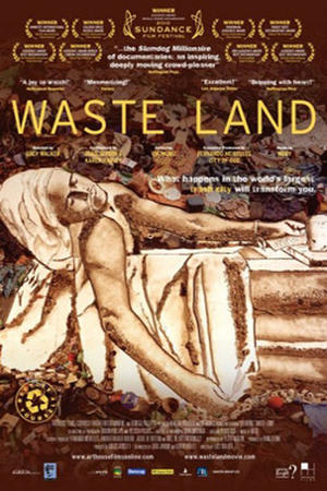 "Poster art for ""Waste Land."""