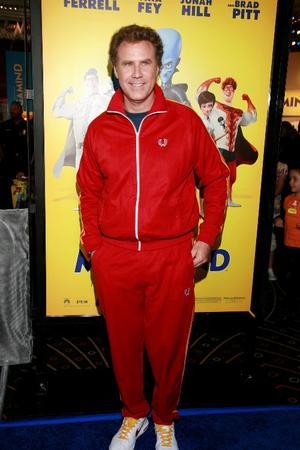 """Will Ferrell at the Los Angeles premiere of """"Megamind."""""""