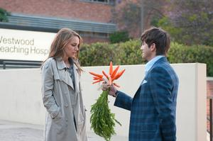 "Natalie Portman and Ashton Kutcher in ""No Strings Attached."""